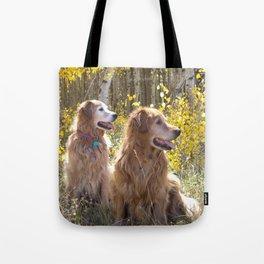 Golden Goldens Tote Bag