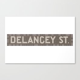 Delancey Street Canvas Print