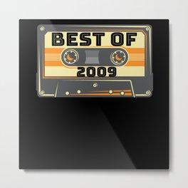 Best Of 2009 Tape Metal Print