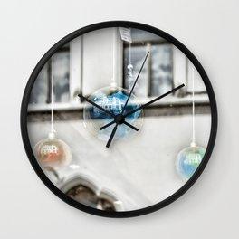 Reflecting Budapest Wall Clock