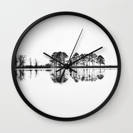 Reflection Complexion Wall Clock