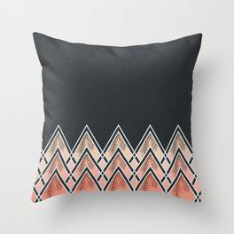 Pink Déco Mountains #society6 #buyart Throw Pillow