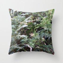 Fern 1 Throw Pillow