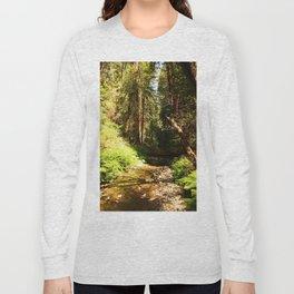 A Muir Woods Scene Long Sleeve T-shirt