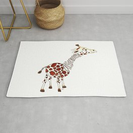 Slinky Giraffe Rug