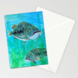 Bass Pairs Stationery Cards