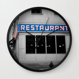 Toms Diner NYC Wall Clock