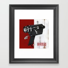 Bad Robot - Super8 Framed Art Print