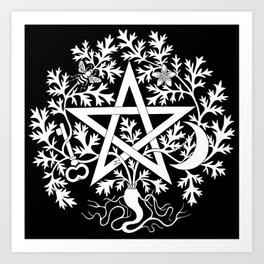 Artemisia Cimaruta Art Print