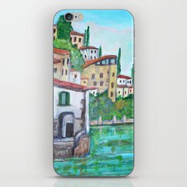 Nesso, Lake Como iPhone Skin