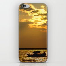 Fishing Boat Returns at Dusk iPhone Skin