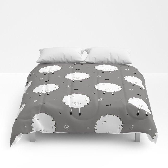 Funny sheep Comforters