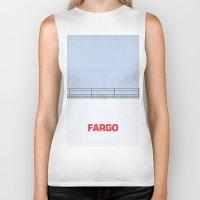 fargo Biker Tanks featuring Ice Scraper by Cameron Chapman