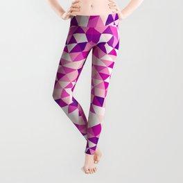 Pink Shards Leggings