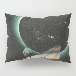 Escaping into the Void Pillow Sham
