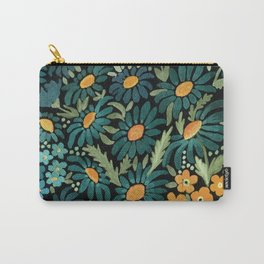 Watercolor . Chamomile field. 2 Carry-All Pouch