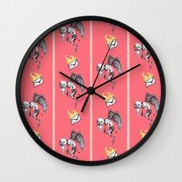 Bitter Valentines Wall Clock