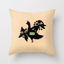 Pennsylvania - State Papercut Print Throw Pillow