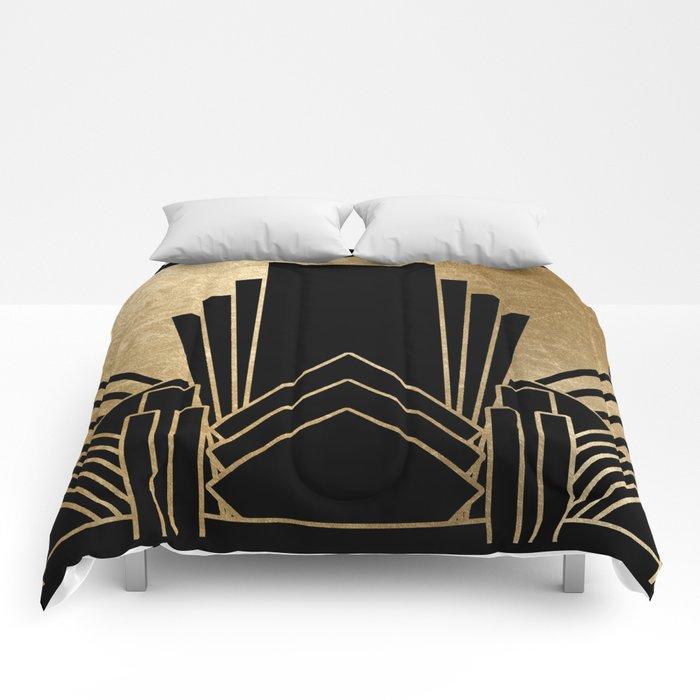 Art deco design Comforters