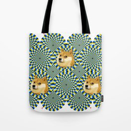 Dogelusion, the best illusion Tote Bag