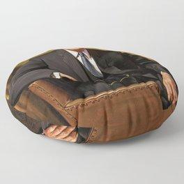 Dwight D. Eisenhower Floor Pillow