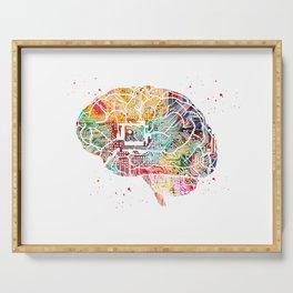 Circuit Brain Serving Tray