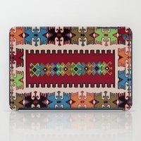kilim iPad Cases featuring Kilim pattern 026 by Ranka Stevic