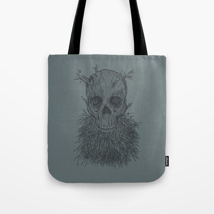 The Lumbermancer (Grey) Tote Bag