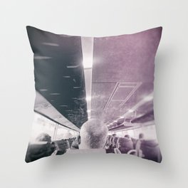 street photo PASSENGER #streetphoto #photo Throw Pillow