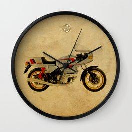 Ducati 500 SL Pantah 1980 Wall Clock