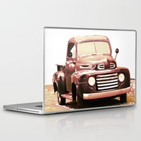 truck Laptop & iPad Skins featuring Old Truck by Regan's World