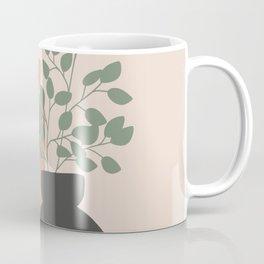 Vase no. 3 with Eucalyptus and Tulip Coffee Mug