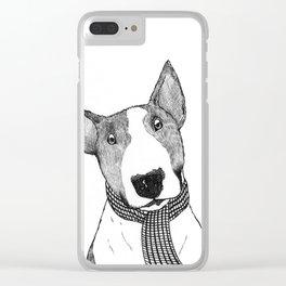 Bull Terrier Clear iPhone Case