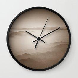 Sky View (Sepia) Wall Clock