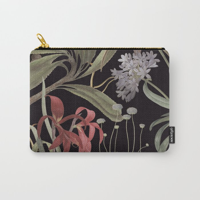 Dark Botanicals (pillow variant) Carry-All Pouch