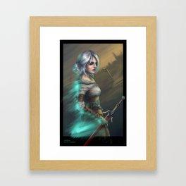 Lady of Worlds Framed Art Print