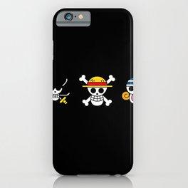 One Piece Skull logo iPhone Case