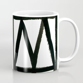 Brush and Ink II Mudcloth Pattern Coffee Mug