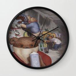 Tagger Teddy Wall Clock