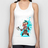 dota Tank Tops featuring Troll Warlord by Angxix