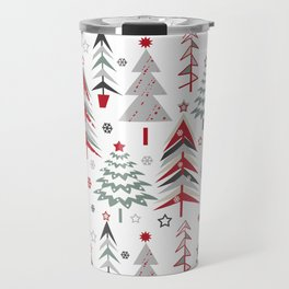 Fairy Christmas forest. Travel Mug