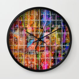 Caged Late Wall Clock