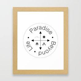 Life Compass Framed Art Print