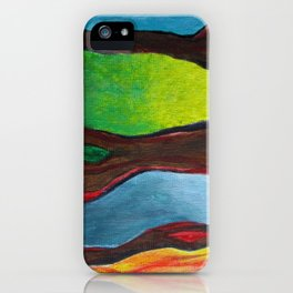 Transection iPhone Case