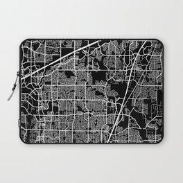 plano map texas Laptop Sleeve