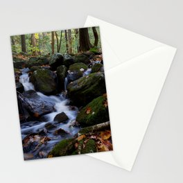 Autumn Forest Stream IV Stationery Cards