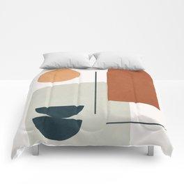 Minimal Shapes No.38 Comforters