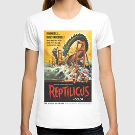 Vintage Classic Movie Posters, Reptilicus T-shirt