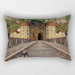 The Division Rectangular Pillow