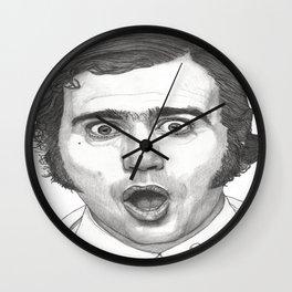 Andy Kaufman Wall Clock